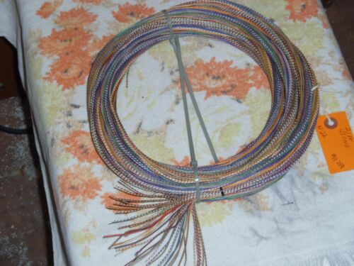 4 1//2 ft coil Western Electric 22ga solid core,CLOTH covered