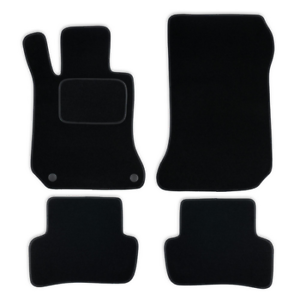 fu matten auto autoteppich passend f r mercedes c klasse. Black Bedroom Furniture Sets. Home Design Ideas