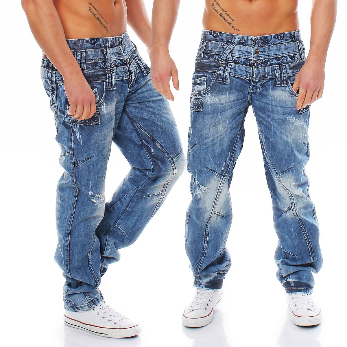 Cipo & Baxx - c-1061 - regolare fit - Jeans Pantaloni Uomo - NUOVO