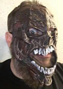 Screaming-Demon-Undead-Zombie-Maschera-Viso-Halloween-Maschera-EUC