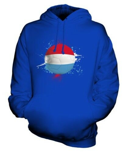 LUXEMBOURG FOOTBALL UNISEX HOODIE TOP GIFT WORLD CUP SPORT