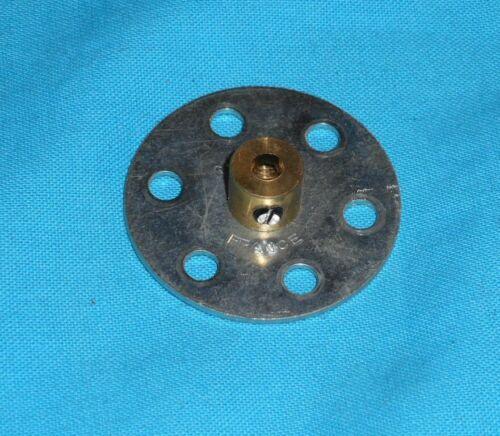 No24b zingué meccano 1 roue barillet 6 trous