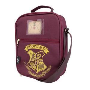 100 Official Harry Potter Two Pocket Lunch Bag - Hogwarts Crest