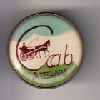 RARE PINS PIN'S .. SPORT CHEVAL HORSE HIPPISME TROT ATTELAGE FIACRE CCAB ~CK
