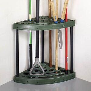 Etonnant Image Is Loading Garage Tool Rack Corner Garden Organizer Shed Storage