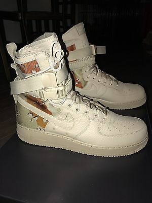 Nike Air Force 1 SF AF1 Special Field Desert Camo Tan 864024 202 Size 13 886915713798   eBay