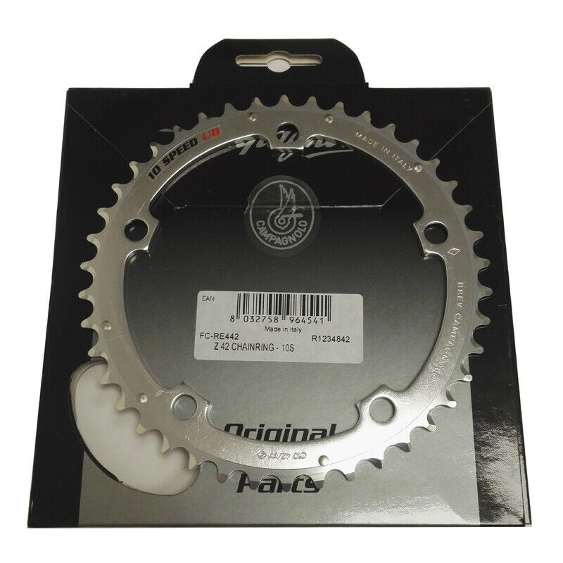 Campagnolo Record Triple Middle Chainring - 10 speed - 42T - RRP