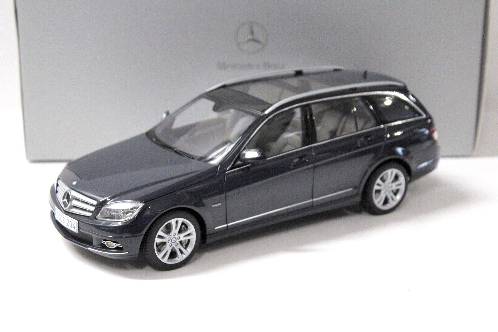 1:18 Autoart MERCEDES CLASSE C T-Modèle TENORIT Grey Dealer chez Premium-MODELCAR | Mode Attrayant