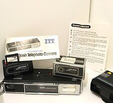 Halina Micro 110 mini film vintage spy camera & Keystone & ITT Pocket Cameras