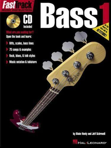 1 of 1 - FastTrack Bass Method - Book 1 (Bk.1)-ExLibrary