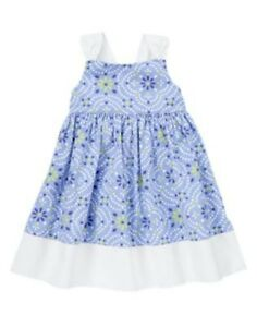 Gymboree Baby Toddler Girl Summer Dress /& Diaper Cover NWT 3 6 2T 3T Retail