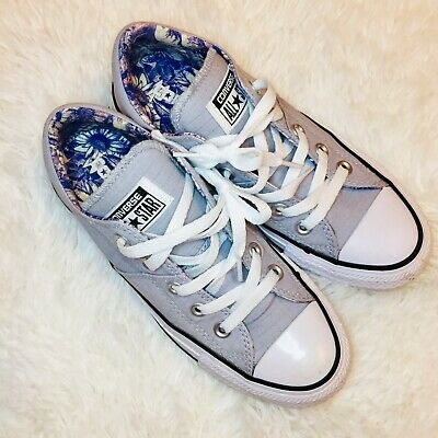 Converse All Star Women's Grey Madison Low Top Sneakers Size 5 | eBay