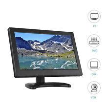 "12"" inch LCD Portable Video Monitor VGA/TV/HDMI/AV/USB For DSLR PC DVD DVR CCD"