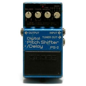 BOSS PS-2 Digital Pitch Shifter / Delay Guitar Effect Pedal Made in Japan