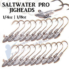 Bullet Jig Heads 1/4oz 1/8oz Fishing Lures Soft Plastics for Gulp Bream Bass