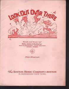 Look-Out-Over-There-1918-Large-Format-Sheet-Music