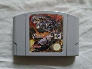 Chopper Attack Nintendo 64 N64 juego PAL Versión