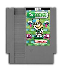 Dr. Luigi - Nintendo NES Game Mario Puzzle