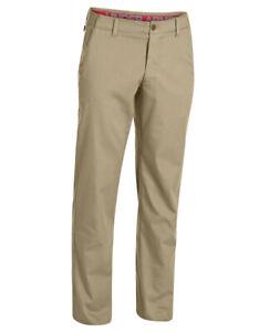 New Men Under Armour Straight Leg Performance Chine Tan Pants Size 38 30 1261616