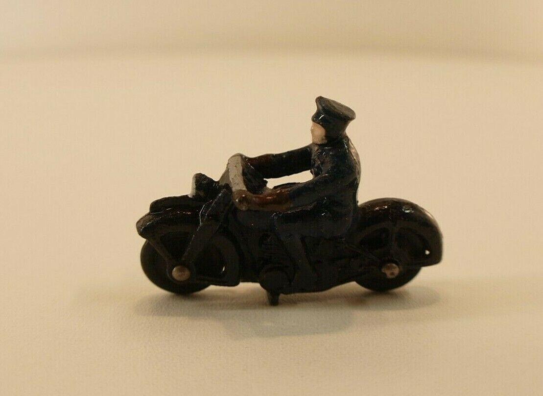 Dinky Toys GB n° 37B  Motor Cycle Police Motocycliste Moto