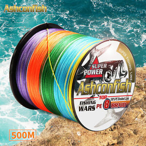 Japan-500M-PE-Braided-Fishing-Line-Multifilament-braided-fishing-line-8-strands