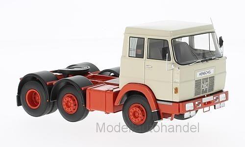 Hanomag Henschel f201 - 1967-Beige Rouge-Neo 1 43 45311    NEW
