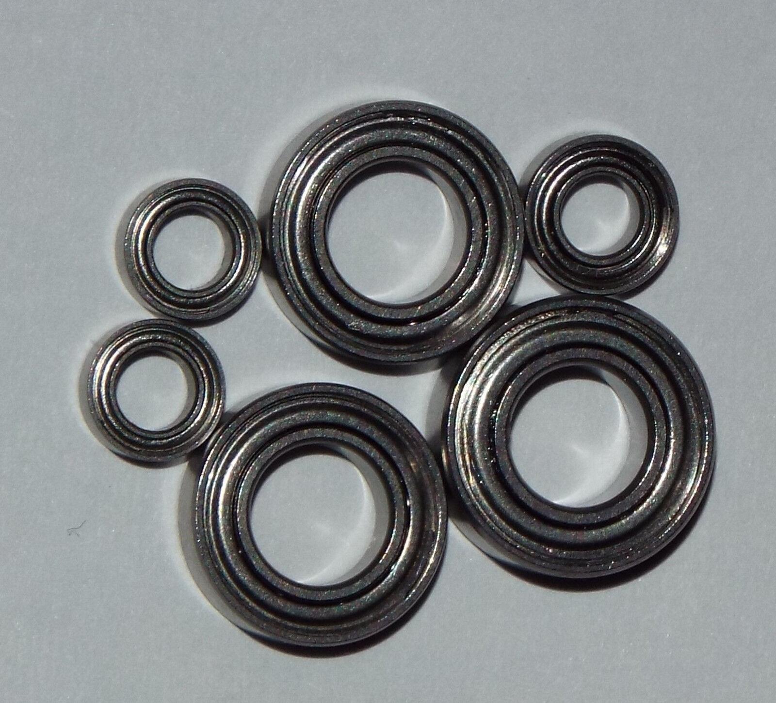 Shimano Aernos 2500 3000FA bearing set Upgrade abec7 stainless steel (FS 204)