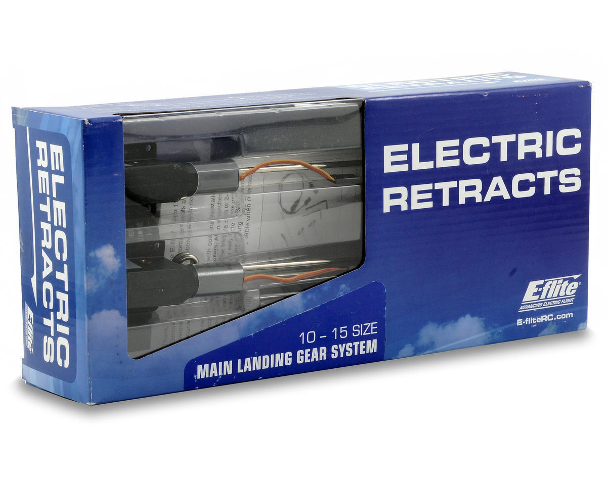 New Eflite E-Flite 10 to 15 .10-.15 Size Main Electric Retracts EFLG100