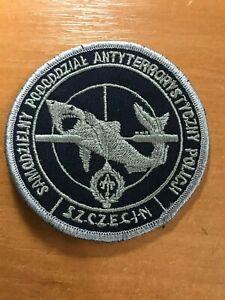 Parche-de-Polonia-policia-Policija-antiterror-Swat-Unidad-Original