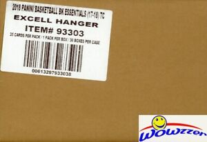 2017-18-Panini-Essentials-Basketball-EXCLUSIVE-Factory-Sealed-36-Box-HANGER-CASE