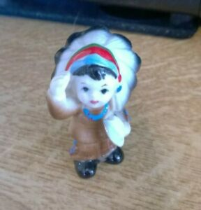 Small-Porcelain-figure-of-Little-Native-American-Indian-Boy-Holding-Axe