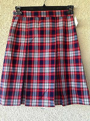 youth Skort Plaid skirt School Uniform cosplay schoolgirl II13