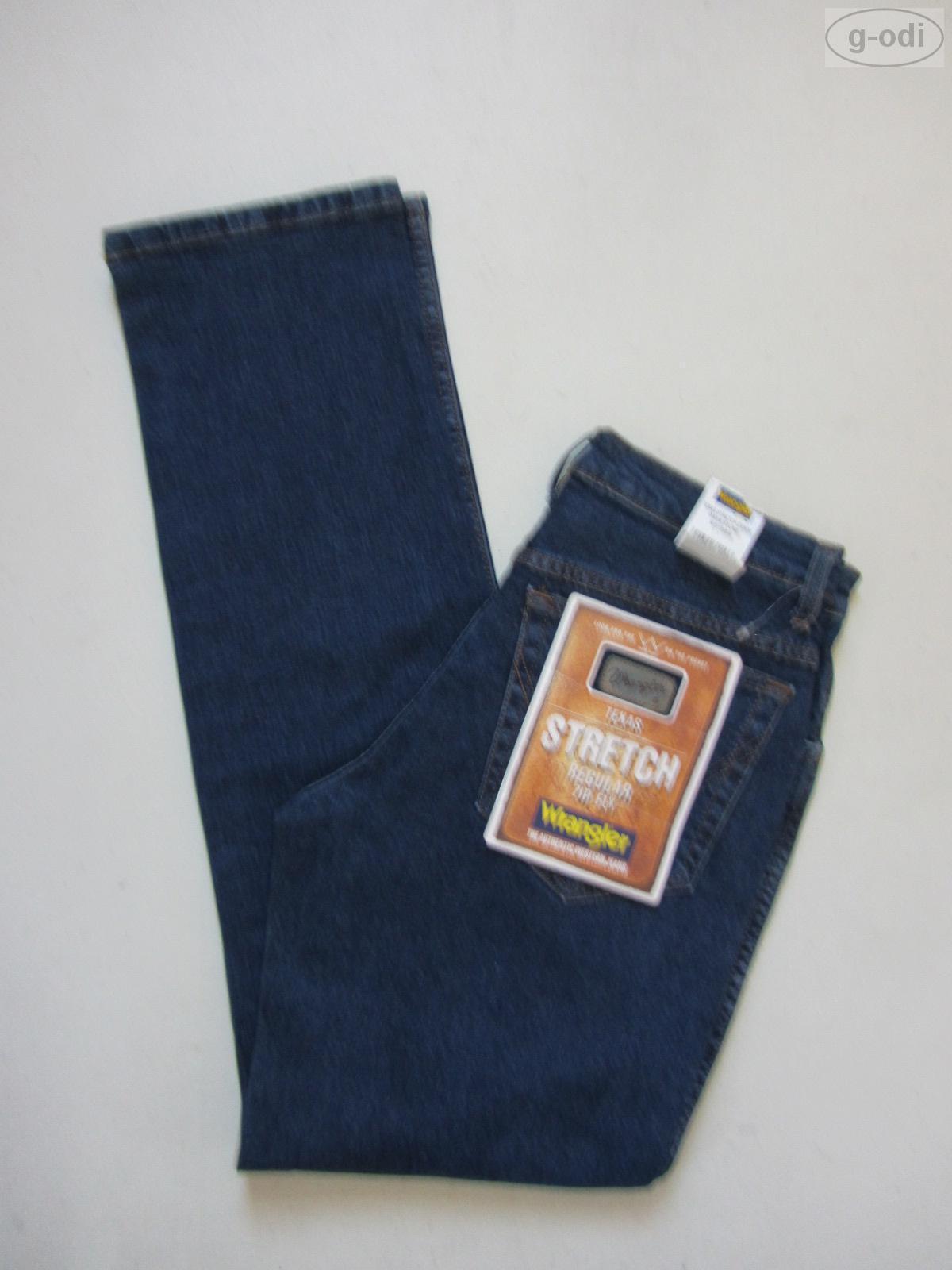 Wrangler TEXAS Stretch Jeans, W 31  L 34, NEU   Darkstone Washed Denim, bequem