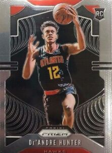 19-20-Panini-Prizm-RC-De-039-Andre-Hunter-251-Rookie-Card-Atlanta-Hawks