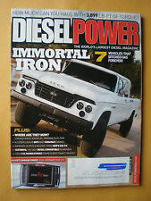 Diesel Power Magazine July 2013- Immortal Iron- 7 Vehicles That Ditched Gas