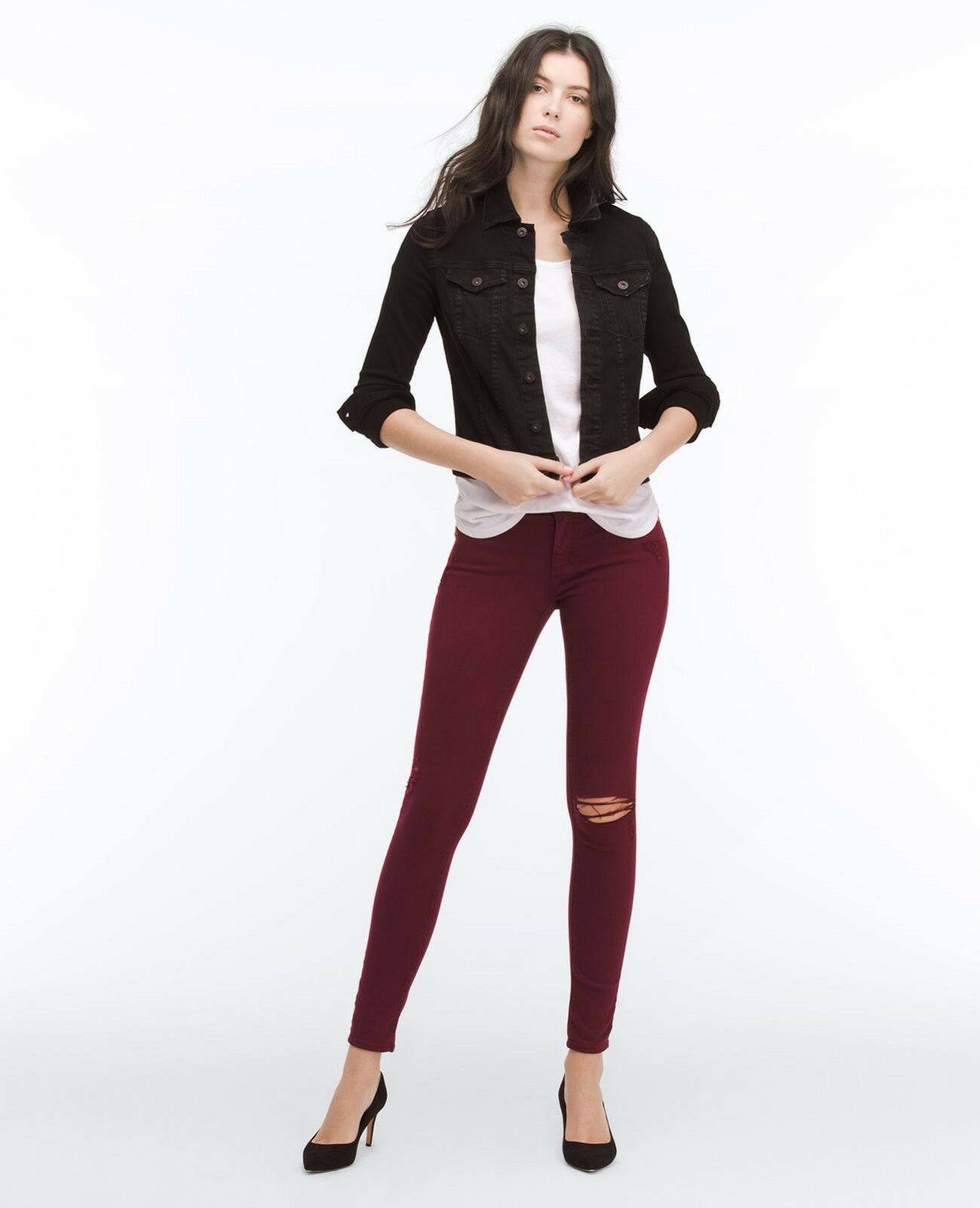 NEW NWT  215 AG ADRIANO goldSCHMIED THE LEGGING SUPER SKINNY JEANS SZ 28