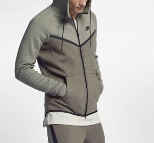 nike sportswear uomo felpa con cappuccio