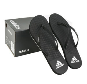 brand new f7aac 4c418 Image is loading Adidas-Women-039-s-EEZAY-Flip-Flops-BB0509-
