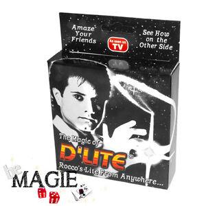 2-x-D-039-lite-BLANC-1-Paire-Faux-pouce-Lumineux-Ghost-light-Tour-de-Magie