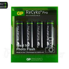 2000 mAh Akku AA Mignon Akku Batterie Batterien Pro NiMH-Akku 1x4 GP ReCyko