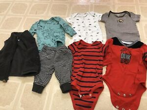 Baby Boys 3 Month Clothes Lot Carter S Dogs Ebay