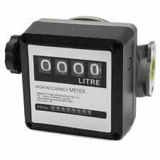 Fm 120 4 Digital Diesel Gasoline Fuel Petrol Oil Flow Meter Counter Gauge