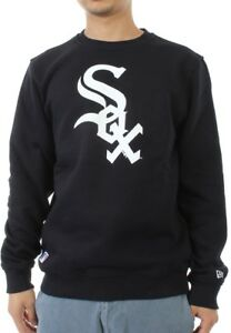 wholesale dealer 8ebab 45923 Details about New Era Nos Crewneck Sweater Men Chicago White Sox Black