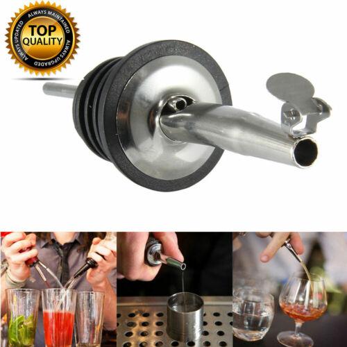 Eddingtons Bottle Pourer Stainless Steel Freeflow Spirit Olive Oil Pourer