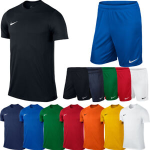 quite nice e709d 766ab Image is loading Nike-JUNIOR-BOYS-T-Shirt-Top-or-Shorts-