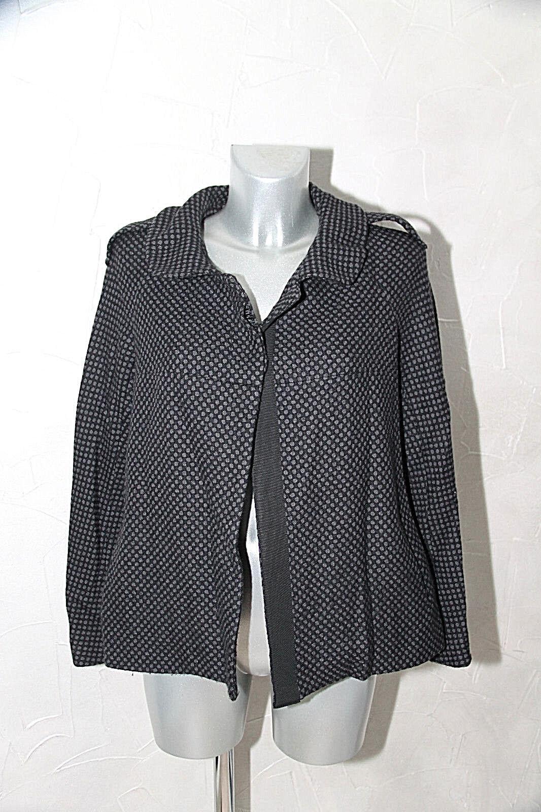 Jolie luxueuse coat veste paletot hiver SANDRO size 42 EXCELLENT ÉTAT