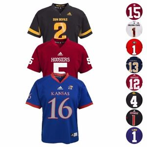 NCAA-Official-Football-Jersey-Collection-Youth-Size-S-XL-Team-A-N
