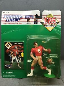 1995 STEVE YOUNG San Francisco 49ers KENNER STARTING LINEUP SLU