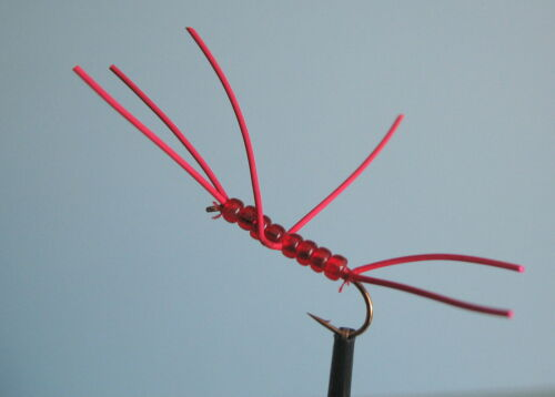 16 available 3 x BEADED APPS BLOODWORM  sizes 10 12 14