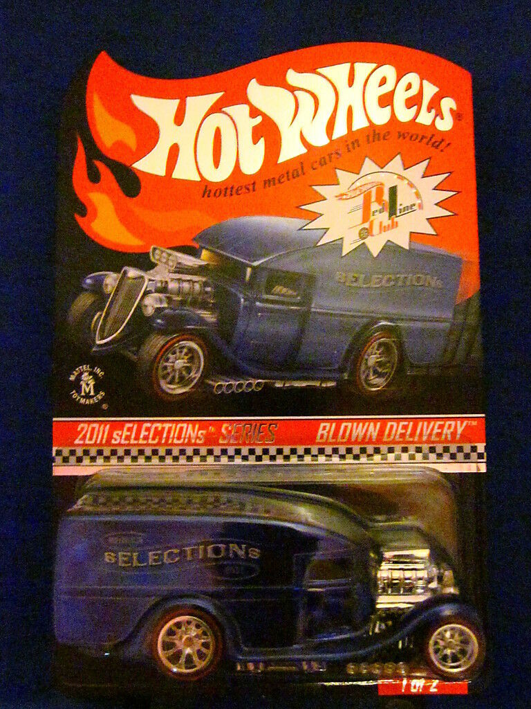 2011 Hot Wheels Selections Blown Delivery 1 of 2